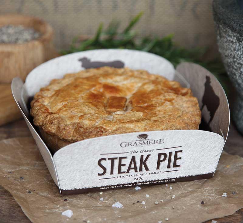 Grasmere Steak Pie - Grasmere Farm