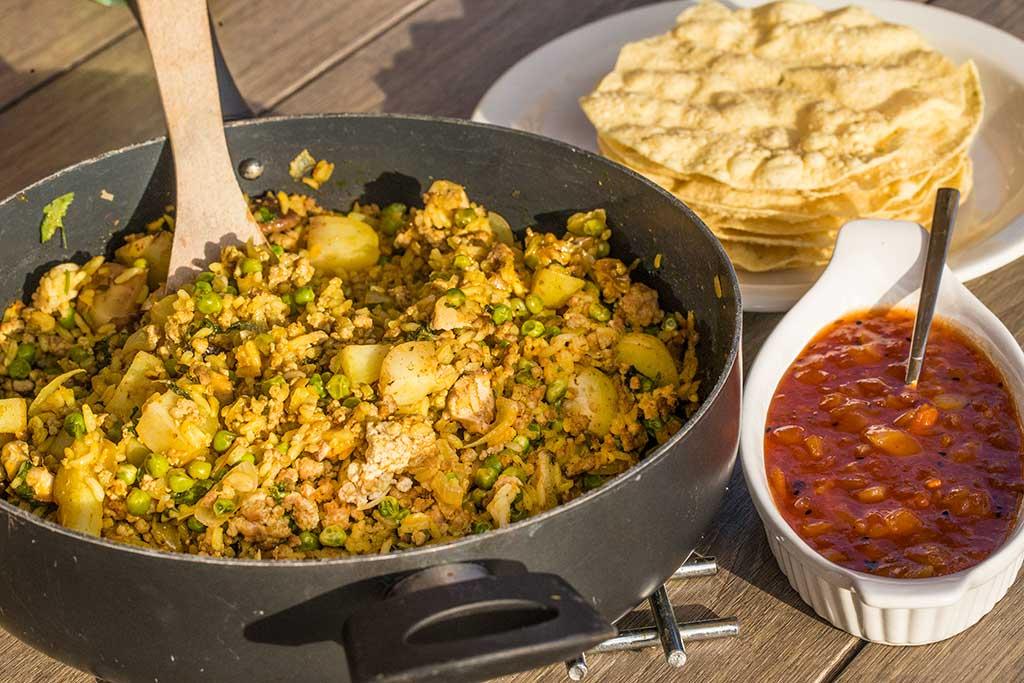 Spicy Pork & Rice Recipe